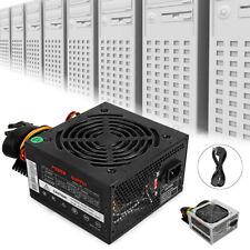 Max 800W Rated 500W Computer Gaming Power Supply PSU PFC 24pin Sata For MAC ATX