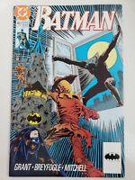 BATMAN #457 (1990) DC COMICS DEBUT OF TIM DRAKE IN ACTION AS ROBIN! SCARECROW!