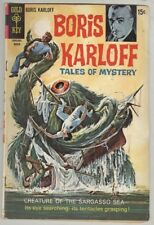 Boris Karloff: Tales of Mystery #29 March 1970 VG Sargasso Sea
