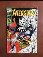 The Avengers #61 (1969) 5.5 VG Marvel Silver Age Comic Book Dr Strange Iron Man