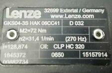 LENZE Motor GKS04-3S HAK06CC41 D032
