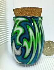 Wig Wag Pyrex Glass Jar Great for Pipe Tobacco or any other needs Made in Usa