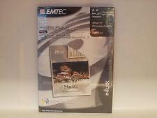 EMTEC P190RV PHOTO PAPER DOUBLE SLIDE MATT COATED A4 190G 50 FOGLI