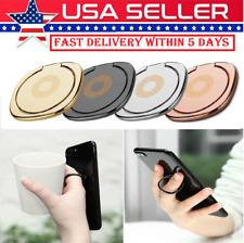 Phone Ring Holder Finger Car Mount Grip Thin Black Socket Magnet For SmartPhones