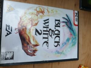Black & White 2 USED PC GAME *Tested* With Manual
