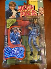 """Austin Powers Carnaby Street 6"""" Action Figure +Voice McFarlane Toys 1999"""