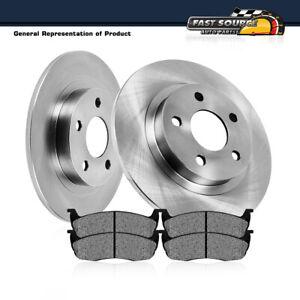 Rear Rotors Metallic Pads For 2008 - 2013 Town & Country Grand Caravan Journey