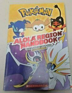 Pokemon Alola Region Handbook Stats and facts on over 250 Pokemon Sholastic 2017