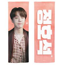 BTS J-Hope 2020 Reflective Slogan Official Banner +Photo card + Ziplock