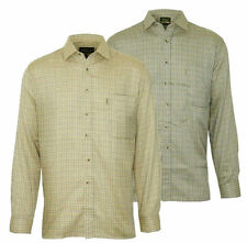 Cotton Blend Checked Loose Fit Casual Shirts & Tops for Men