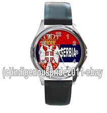 Serbia Flag /Serbian Flag UNISEX Watch-Unisex.Great gift. Hurry. Mens & Ladies