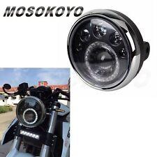 """LED Headlamp Dirtbike Motorcycle 7"""" Headlight Classic For Honda CB Racer Bobber"""