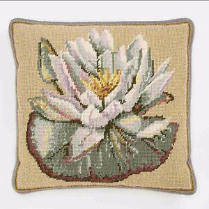 Ehrman Kaffe Fassett WATERLILY KHAKI Needlepoint Tapestry Kit