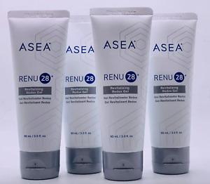 ASEA Renu 28 Revitalising Gel 90ml x4 tubes Anti-aging Free Domestic Post