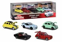 Majorette 212052013 - Vintage Gift Set, Miniature Cars, 5 Toy Cars, 7.5 cm,