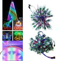 500pcs WS2811 Full Color LED Pixel Digital Diffused 12mm RGB Light P68 5V 12V