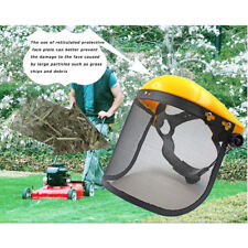 Forestry Head Protection Safety Helmet Vented Hard Hat, Mesh And Visors