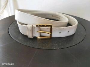 ceinture blanche en cuir TORRECIANI
