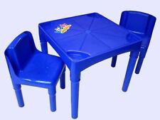 Tavolini e sedie rosso per bambini