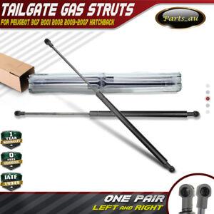 Set of 2pcs Tailgate Gas Struts for Peugeot 307 2001-2007 Hatchback