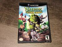 Shrek Extra Large Nintendo Gamecube Complete CIB Authentic