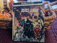 New listing Justice League Steelbook (4K Uhd+Blu-ray) Oop! Mint Best Buy Exclusive * Dc