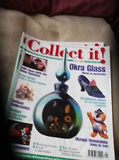 COLLECTABLE MAGAZINE COLLECT IT SEP 2000 #39 OKRA COTTAGE SOVIET SHOES OLYMPIC