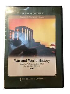 Great Courses DVD War and World History by Jonathan P. Roth