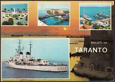 AD5529 Saluti da Taranto - Vedute - Cartolina postale - Postcard