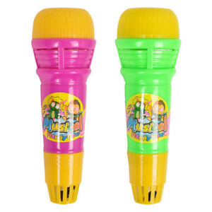 Echo Microphone Mic Voice Changer Toy Gift Birthday Present Kids Party SongO Sw