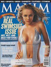 MAXIM Magazine #50 FEBRUARY 2002-A - AMANDA MARCUM  KYLIE BAX SIMONE MUTERTHIES