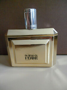 FERRE 20 by GIANFRANCO FERRE EAU DE TOILETTE 100 ml 3.37 oz 65% FULL WOMAN RARE