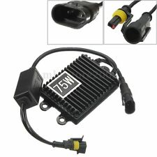 12V 75W HID Bi-Xenon Slim Digital Replacement Ballast AC For H1 H3 H7 H9 9006