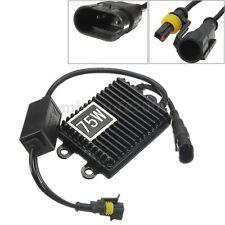 12V 75W HID Bi-Xenon Slim Digital Replacement Ballast AC For H1 H3 H7 H9 9006
