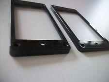 NEW 2 Mountings ring incurvés - black - pour Les Paul, SG - contour