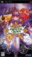 princess crown PSP Atlas Sony PlayStation Portable From Japan