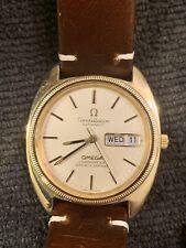 Stunning Omega Constellation Chronometer 1970's Gold Ref 168.0057