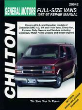 Chilton Workshop Manual GM Full-Size Vans Chevy GMC Van Rally Savana Vandura