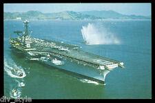 USS Ranger cv-61 Tarjeta Postal NOS MARINA Enviar Avión Transportista (card5)