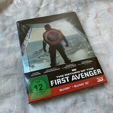 Blu-Ray Steelbook Captain America The Return Of The First Avenger 3D