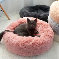 Lit pour chien chat en peluche doux Tapis Panier Corbeille Couchage Panier Nid