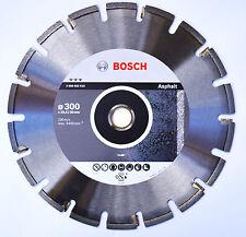 BOSCH Diamanttrennscheibe Trennscheibe Asphalt 300 x 25,4/30 x3.2 mm 2608602515