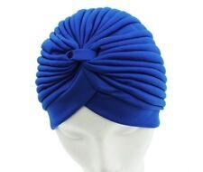 Royal Blue Turban Head Wrap Fashion hat Band Hat Cap
