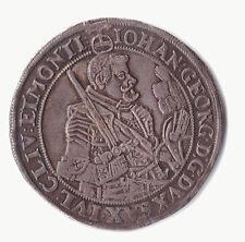 alter Taler - Kurfürstentum Sachsen - 1633 - Johann Georg I. - Silber