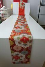 Kimono Fukuro Obi Brokat Gürtel Seide aus Japan Showa Seide Kranich  handgenäht