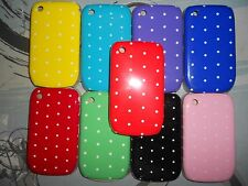 BLACKBERRY CURVE 8520  HARD CASE BANG TIDY KEEP CALM POLKA DOTS