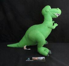"14"" Rex Toy story Bean Bag Doll Plush Walt Disney World Dinosaur Stuffed Animal"