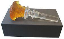 Versace Treasury by Rosenthal Flaschenstopfer in amber II. Wahl (AE057)