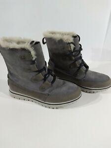 Sorel cozy Joan suede ankle snow boot, 6.5.