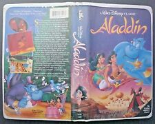 VHS tape black diamond classic Aladdin model 1662
